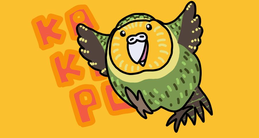 カカポってどんな鳥?