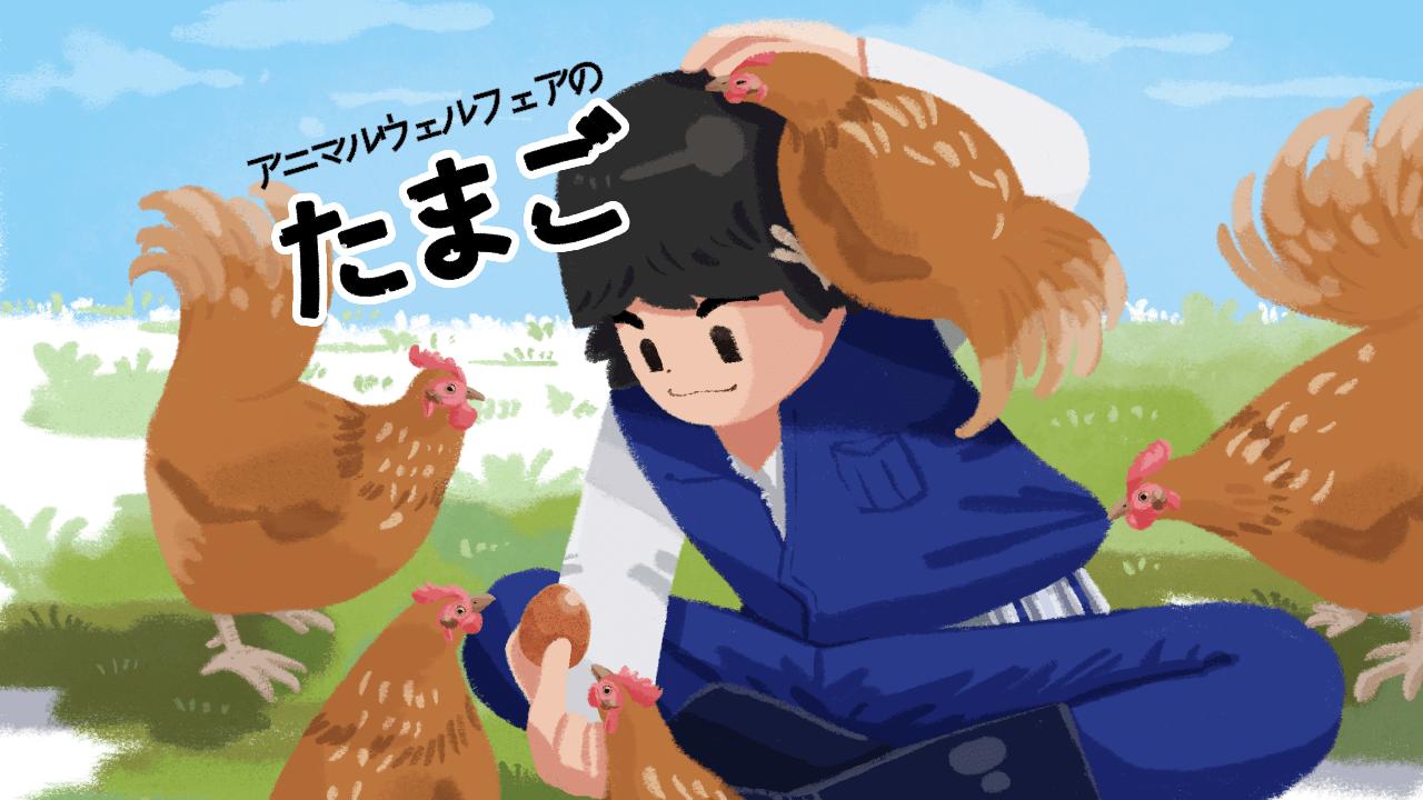 アニマルウェルフェアの卵を買おう!