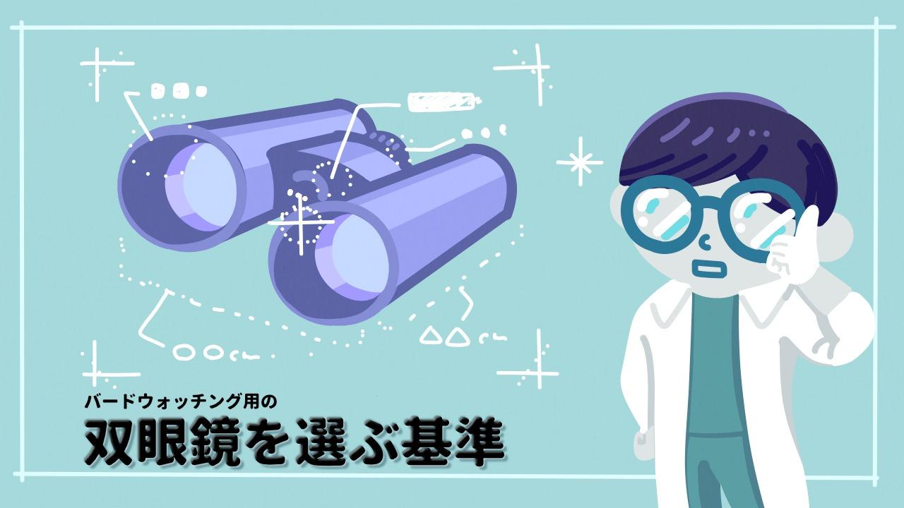 バードウォッチング用の双眼鏡を選ぶ基準まとめ