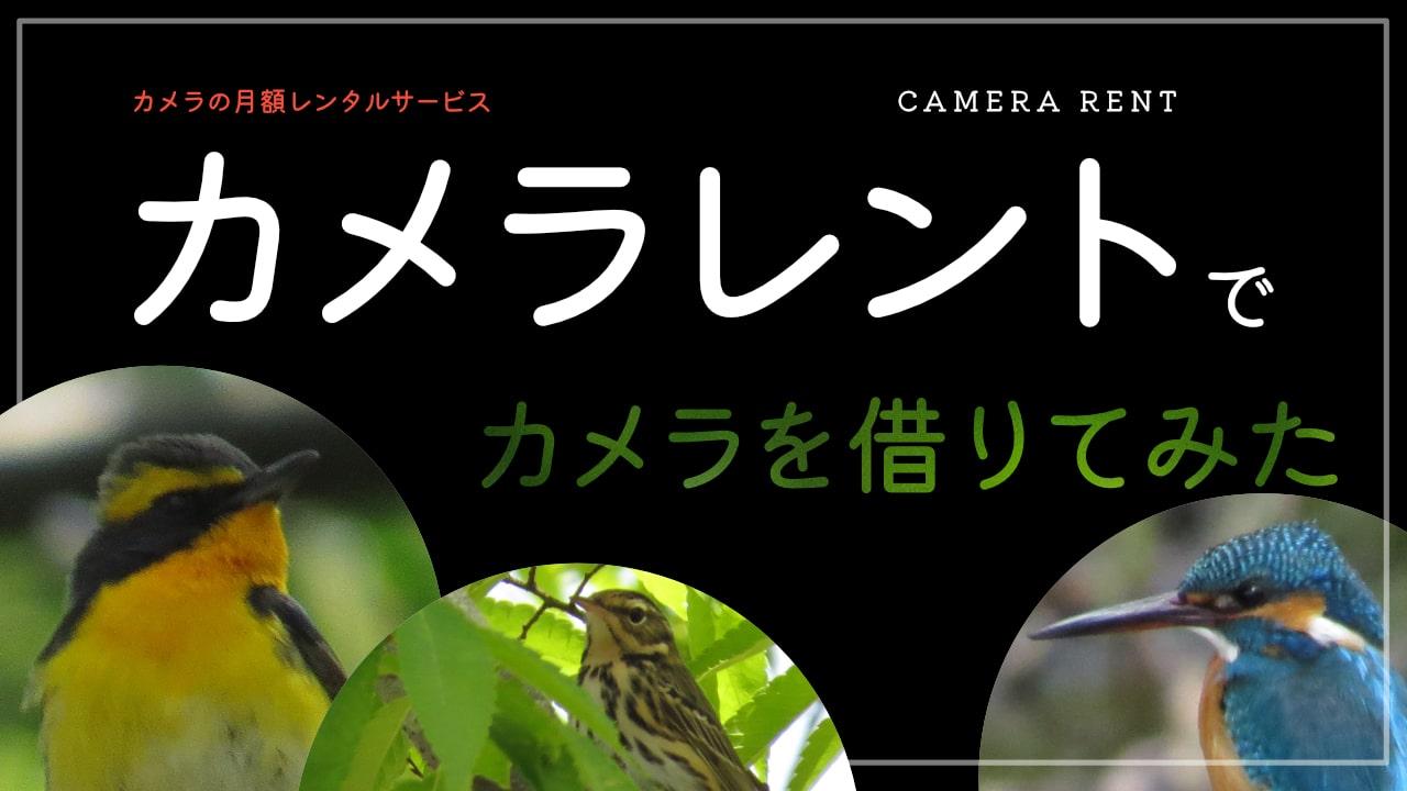 カメラレントでカメラを借りてみた!審査は?評判は?口コミは?